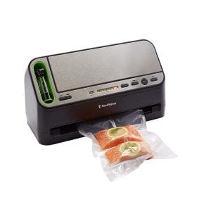 FoodSaver V4440 2-in-1 Vacuum Sealer Machine with Automatic Bag Detection and Starter Kit