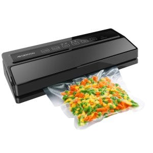 GERYON Vacuum Sealer, Automatic Food Sealer Machine for Food Savers w/Starter Kit