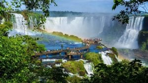 Iguazu Falls, Argentina:Brazil border