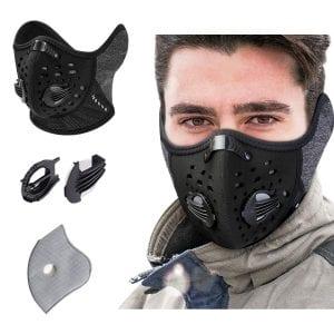 KINGBIKE Dust Mask with Windproof Ear Muff