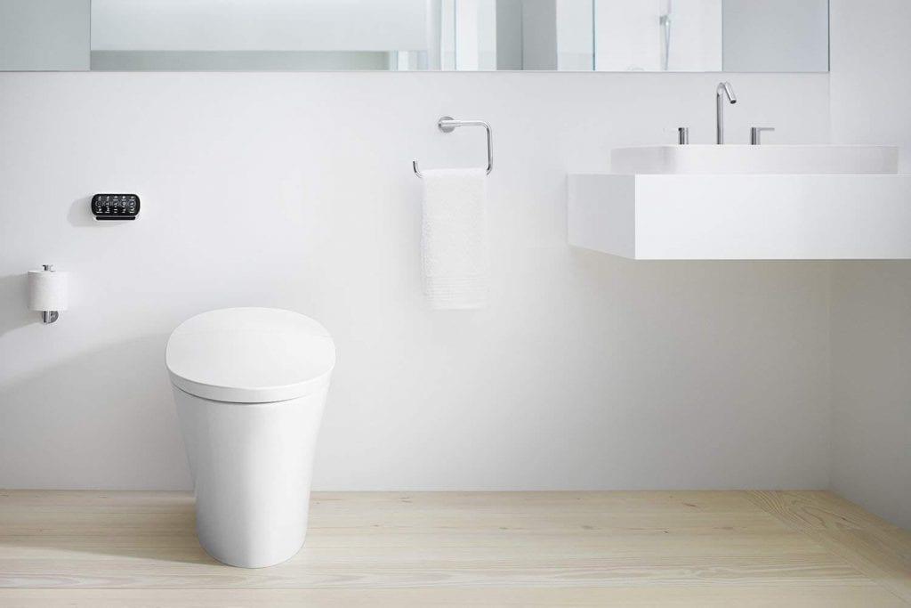 KOHLER K-5401-0 Veil Skirted Toilet