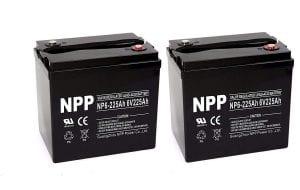 NP6 6V 225Ah Sealed AGM Deep Cycle Battery