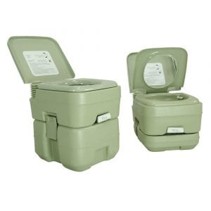 PARTYSAVING Multiple Gallon Travel Toilet