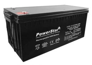 PowerStar 12V 200Ah 4D replacement SLA/AGM deep cycle battery