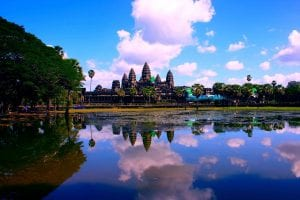 The Angkor Wat Temple of Cambodia