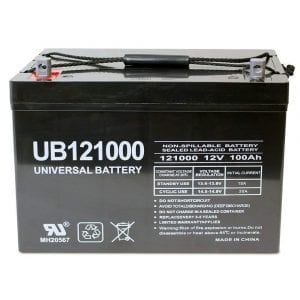 Universal UB121000-45978 12V 100Ah Deep cycle battery
