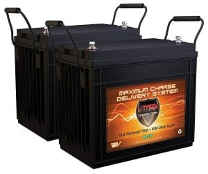 VMaxslr 155AGM Deep cycle 12V 310Ah SLA Rechargeable Battery