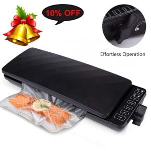 Weltpacken Vacuum Sealer Machine with Automatic Touch Screen