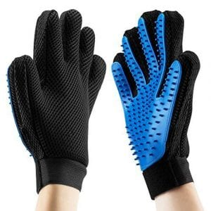 kelzsm Pet Grooming Gloves -Upgrade Version