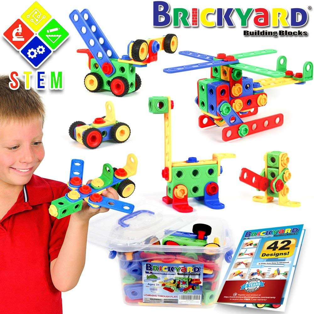 163 Piece STEM Toys Kit
