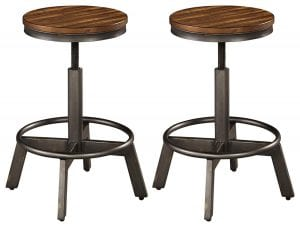 Ashley Furniture Signature Torjin Counter Height bar Stools-(Set of 2)