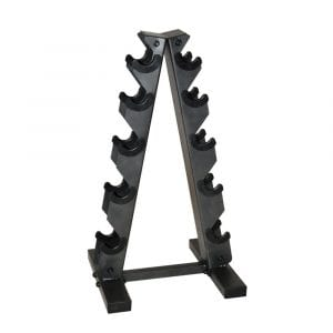 CAP Barbell Black a Frame Dumbbell Stand