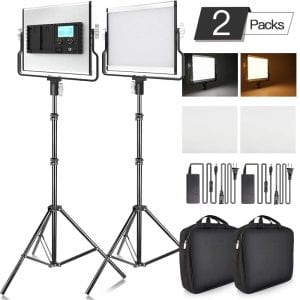 Fositan L4500 LED Video Lighting Kit