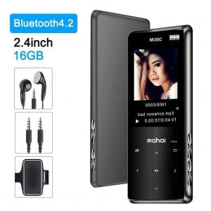 Jimwey MP3 Player with Bluetooth