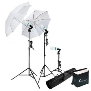 LimoStudio LMS103 Umbrella continuous photography lighting kit
