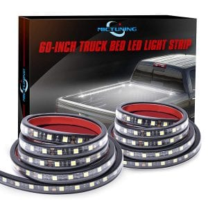 MICTUNING 60 inch Cargo Bed White LED Light