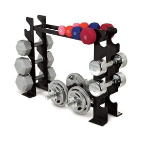 Marcy Compact Free Weight Rack
