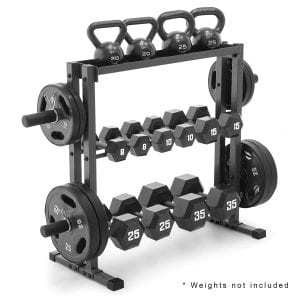 Marcy DBR-0117 Combo Weights Storage Rack