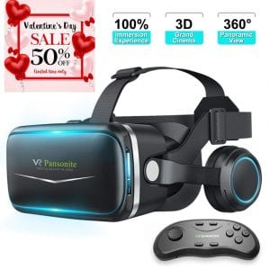 Pansonite VR Headset with remote controller