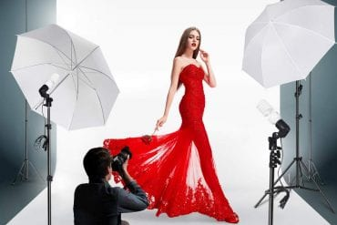Professional photography lighting kits