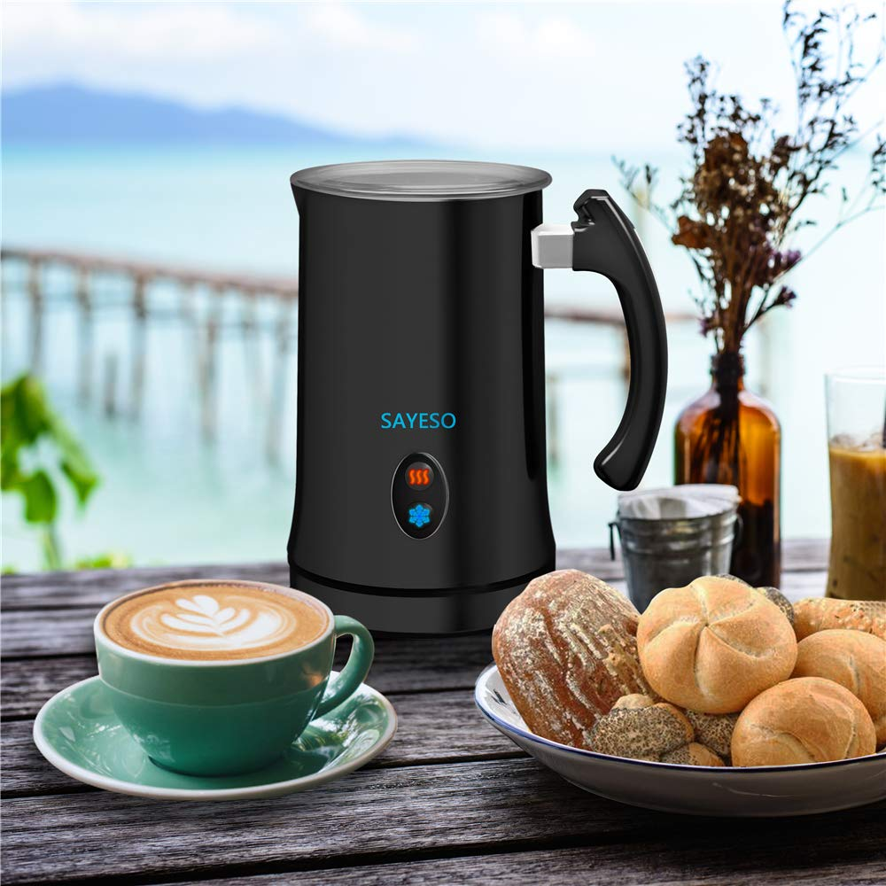 SAYESO Automatic Milk Frother and Warmer