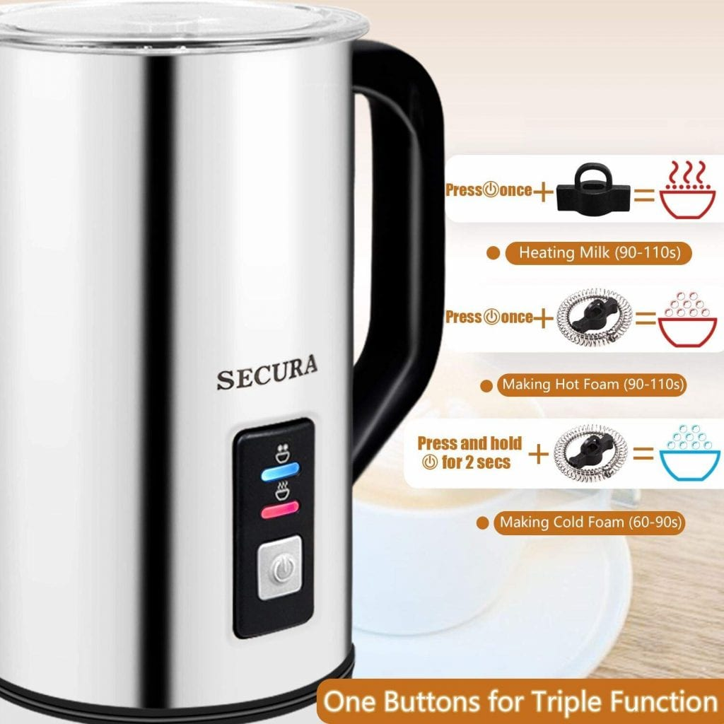 Secura Automatic Milk Frother