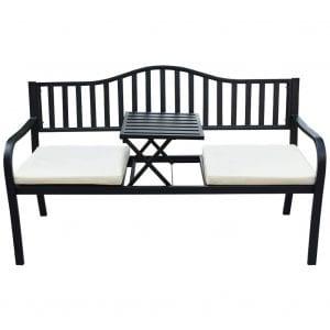 Sundale Outdoor Patio Park Garden Bench Chair