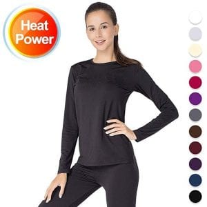 Thermal Underwear for Women Long Johns Set Fleece Lined Ultra Soft