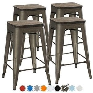 UrbanMod 24-inch Counter Height Bar Stools [SET OF 4]