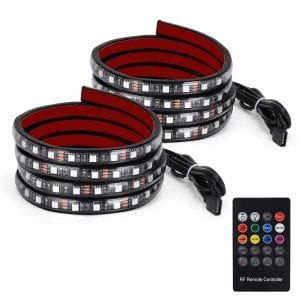 YITAMOTOR 2x 60 RGB LED Truck Bed