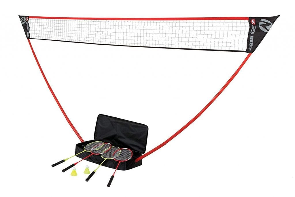 Zume Games Portable Set for Badminton