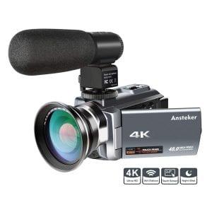 Ansteker 4K Camcorder