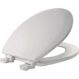 Bemis 500EC 000 Wood Round Toilet Seat