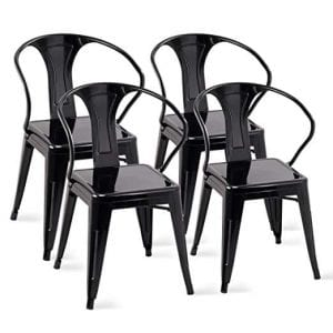 Costway Tolix Style Dining Chairs