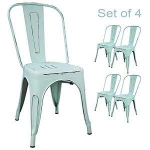 Devoko Metal Indoor-Outdoor Chairs