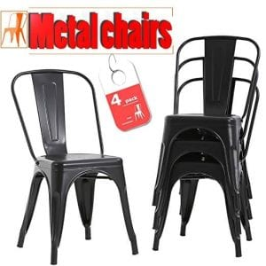 FDW Stackable Chair Restaurant Chair