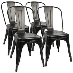 Furmax Metal Trattoria Dining Chair set