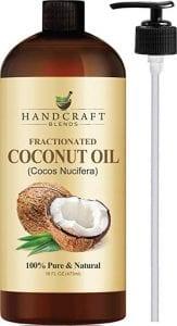Handcraft Blends 100% Pure Fractionated Coconut Oil 16 OZ