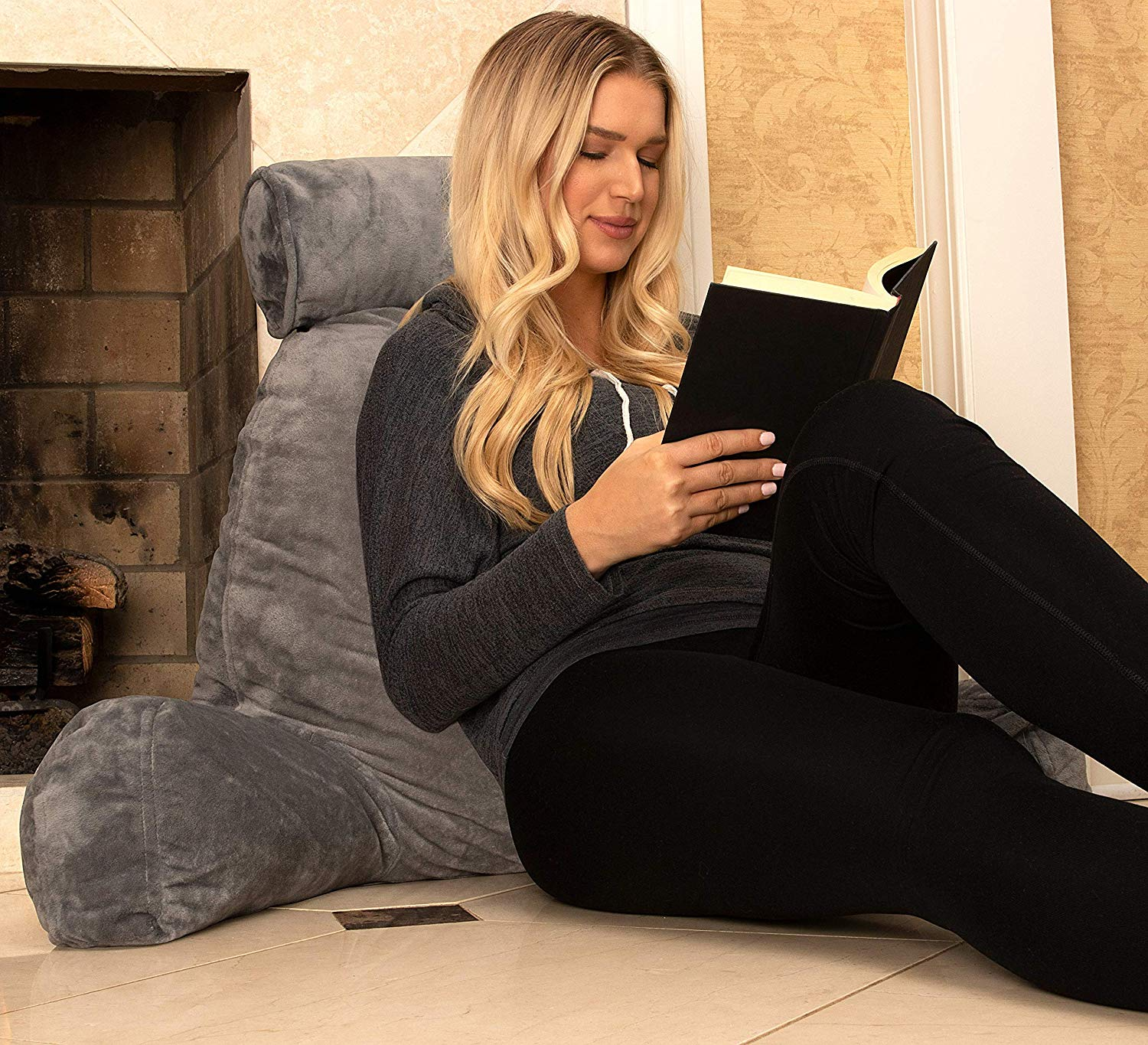 Picture of: The Best Bed Rest Pillows In 2020 Most Comfortable Reading Pillows