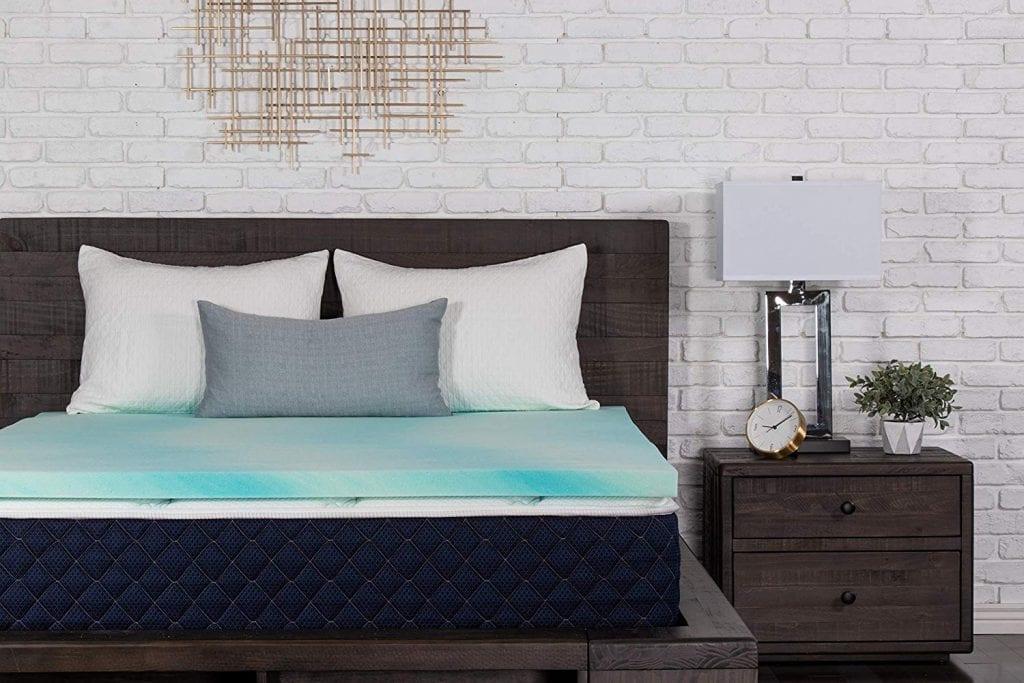 Dreamfoam Bedding Memory Foam Topper (2inches) U.S. Made