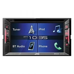 JVC KWV140BT Double-Din DVD/FM Car Stereo