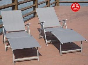 Kozyard Adjustable Chaise Lounge Chair