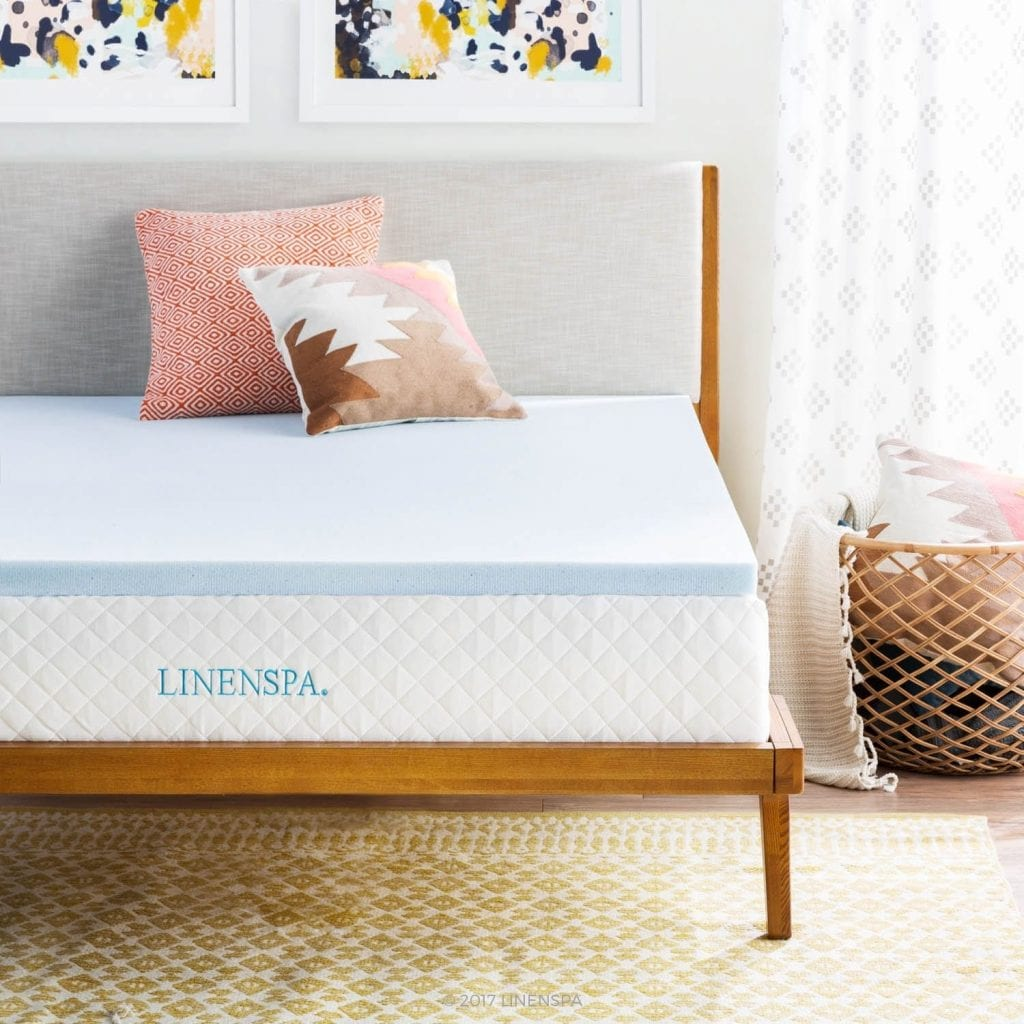 Linenspa Memory Foam Mattress Topper (2 inch)