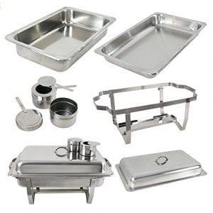 ROVSUN 6 Pack 8 Quart Chafing Dish