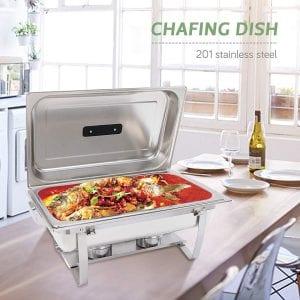 SUNCOO 8 Quart Chafing Dish
