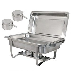 ZenChef Upgraded 8 Qt Stainless Steel Chafer