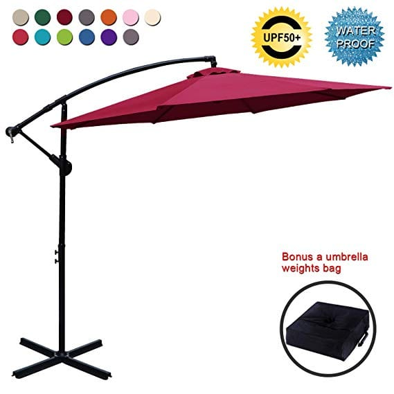 ABCCANOPY Patio Umbrellas Cantilever Umbrella