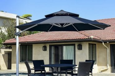 Offset Patio Umbrellas