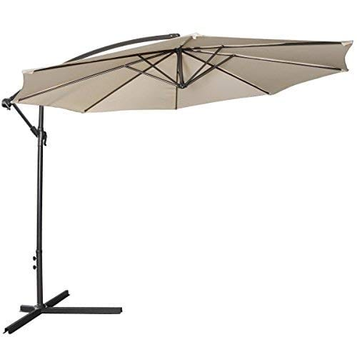 Tangkula Patio Umbrella 10ft Outdoor Sun