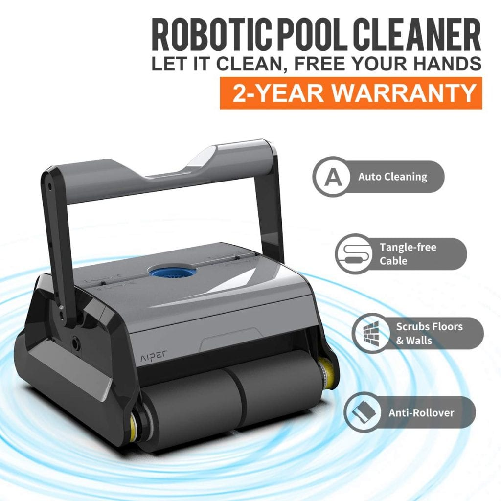 Aiper Tangle Free Robotic Automated Cleaner For Pool